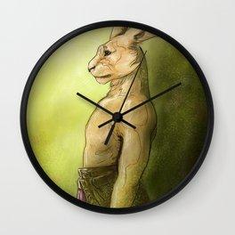 Life Rising (Easter Bunny) Wall Clock