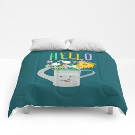 Happy Day- Watering Can Comforters
