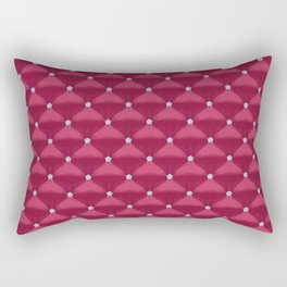Purple Quilted Pattern  Rectangular Pillow