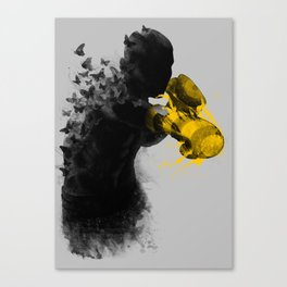 float like butterflies, sting like a bee Canvas Print