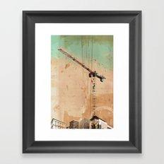 The Crane Framed Art Print