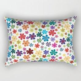 Flowers - Flowers Rectangular Pillow