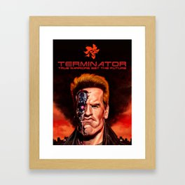 The Terminator Framed Art Print