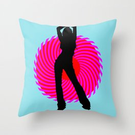 Hot Spot I Throw Pillow