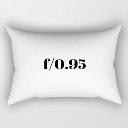 F/0.95 Rectangular Pillow