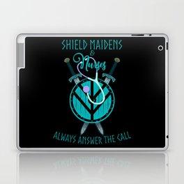 Viking Shield Maidens and Nurses Laptop & iPad Skin