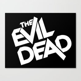 The Evil Dead (1981) Canvas Print