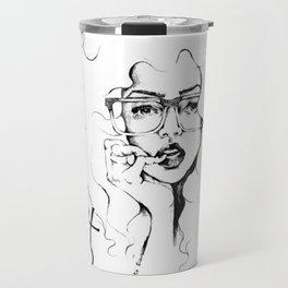 #STUKGIRL Foxy Frames Travel Mug