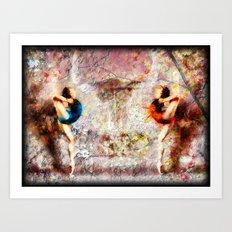 Dancing Her Demons Away #6 Art Print