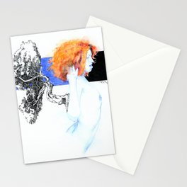 NUDEGRAFIA - 51 red hair Stationery Cards