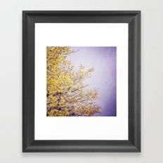 Lilac Skies Framed Art Print