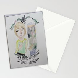 fangirl Stationery Cards