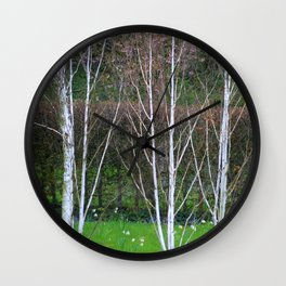 rites of spring Wall Clock