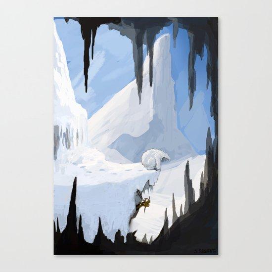 Yeti Encounter Canvas Print