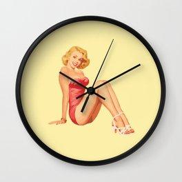 pinup Wall Clock