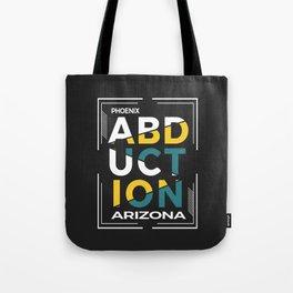 ABDUCTION   UFO Art Tote Bag