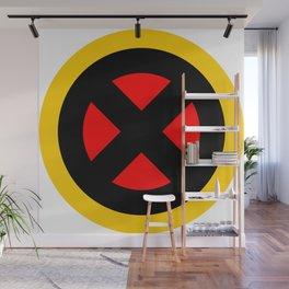 The X logo Wall Mural