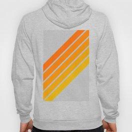 Orange Color Drift Hoody