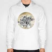 transformer Hoodies featuring Transformer by Dave Houldershaw