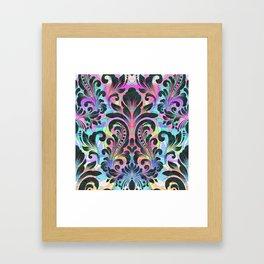 Boujee Boho Fleur Framed Art Print