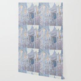 Monet, Rouen Cathedral Series, west facede (La Cathédrale de Rouen) Wallpaper
