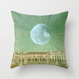 Equinox Moon Throw Pillow