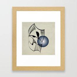Abstract L1 Framed Art Print