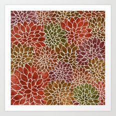 Floral Abstract 31 Art Print