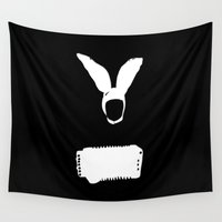 cinema Wall Tapestries featuring Minimal Cinema - Gummo by Quellasenzanick
