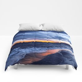 Stormy Cannes Comforters