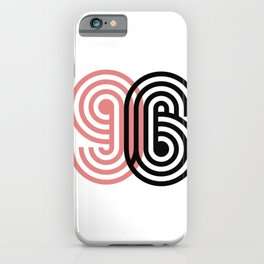 96 lucky number iPhone Case
