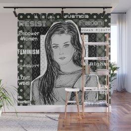 (Fifth Harmony - Lauren Jauregui) - yks by ofs珊 Wall Mural