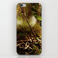 canada iPhone & iPod Skins featuring Canada by Tora Wolff Craft