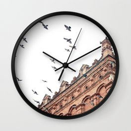 Citys Bird Sanctuary Wall Clock
