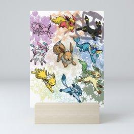 Eeveelution Mini Art Print