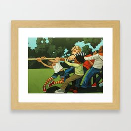 Together We Can! Framed Art Print