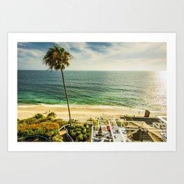 Fun Summer 5530 Laguna Beach Art Print