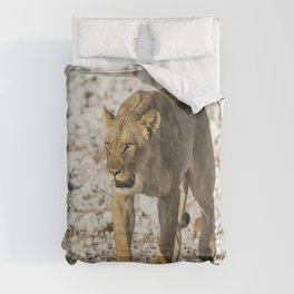 Lioness on the Move Comforters