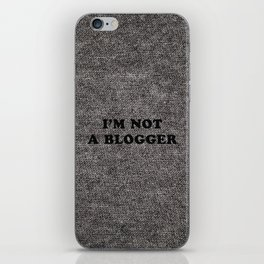 Blogger iPhone Skin