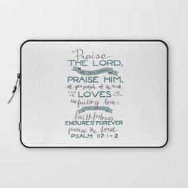 Psalm 117: 1-2 Laptop Sleeve