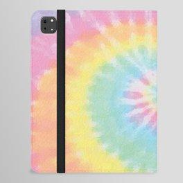 Pastel Tie Dye iPad Folio Case