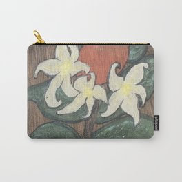 Florida Citrus Farmhouse Orange Blossom Carry-All Pouch