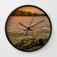 Wilderness Sunset Wall Clock