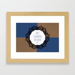 Ravenclaw Pride Framed Art Print