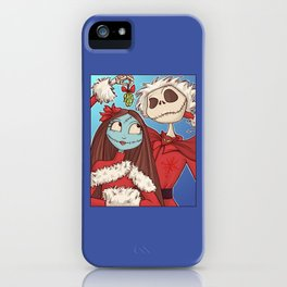 Sally and Jack iPhone Case