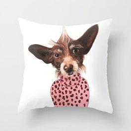 Murphy Brown Throw Pillow