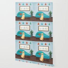 A Labrador Retriever Makes A House A Home Wallpaper