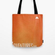 Unidentified Flying Adventure Tote Bag