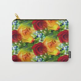 Parting Roses Carry-All Pouch