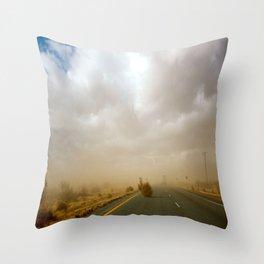 Dust Roll Throw Pillow